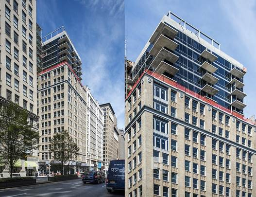 GEA Projects in the news: Construction wraps on 444 Park Avenue South SLS Hotel!