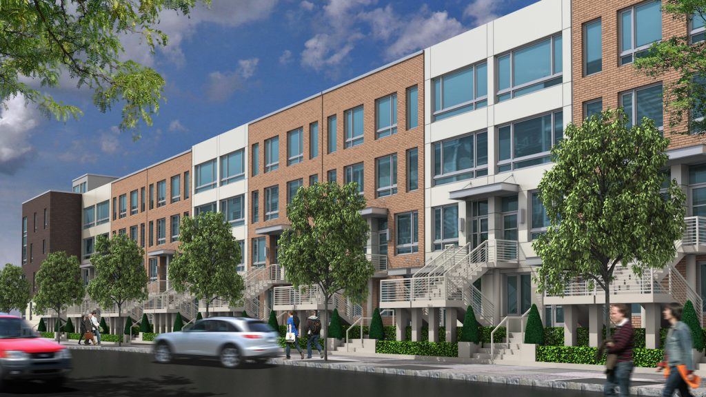 GEA Projects in the News: New Renderings of Long Island City's Under-Construction Townhouses Revealed!