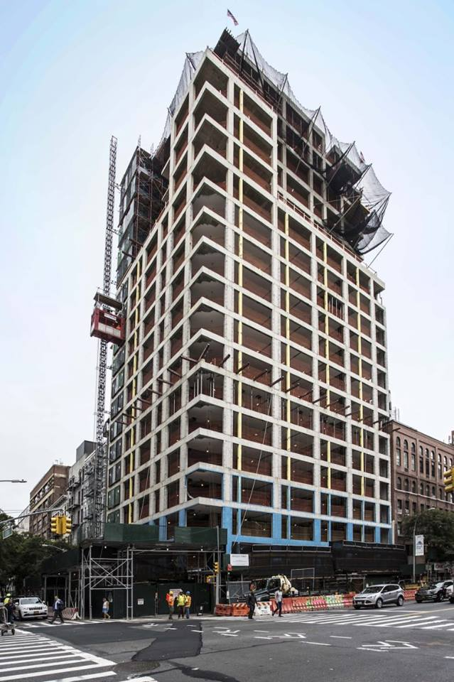 GEA Projects in the News: 200 East 21st Street Tops Out at 21 floors!
