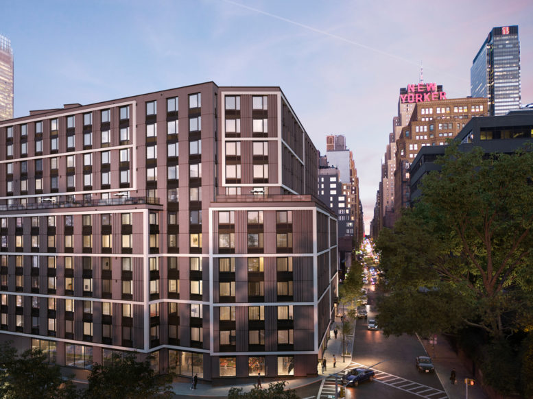 GEA Projects in the News:  411 West 35th Street Gets New Renderings