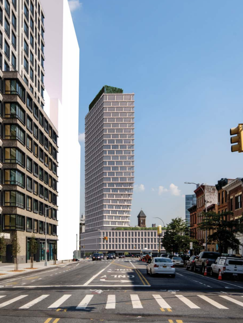 GEA Projects in the News:  New High-Rise at 550 Clinton Street