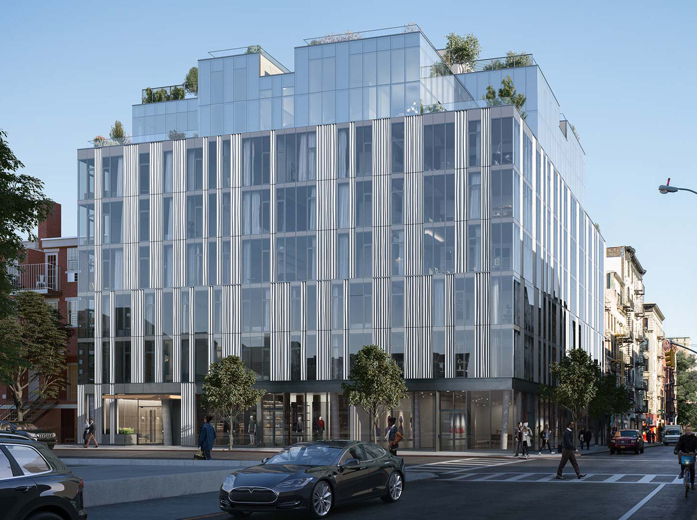 GEA Projects in the News: 150 Rivington Street Facade Nears Completion!