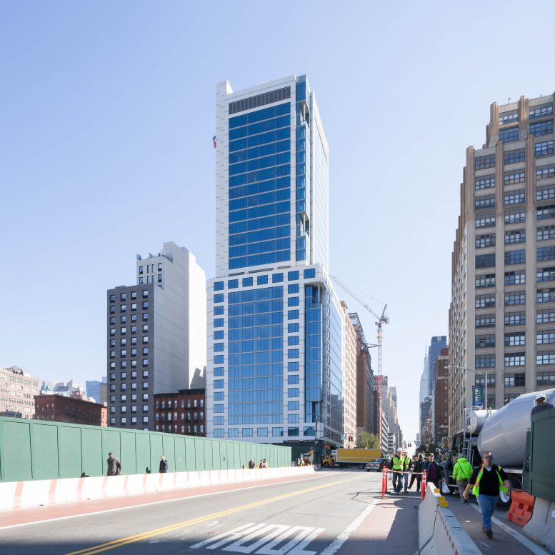 GEA Projects in the News: 34th Street – Marriott Hotel Facade is Complete