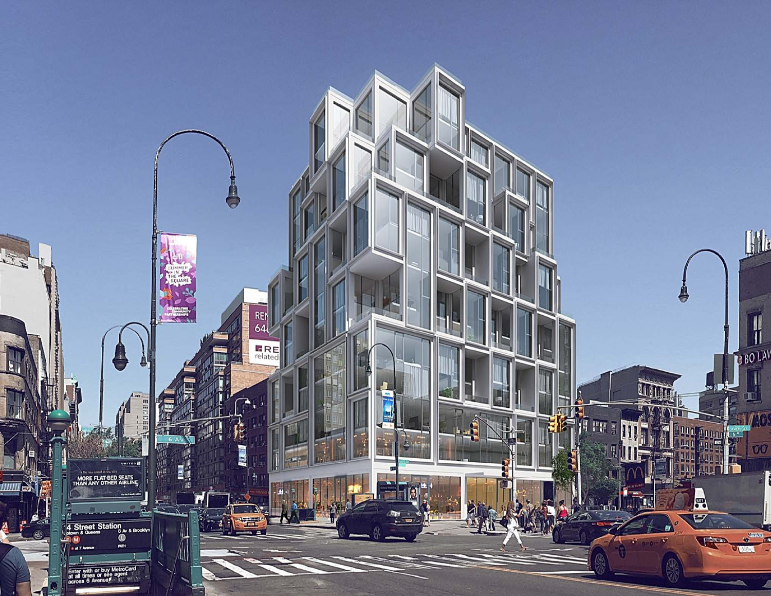 GEA Projects in the News: 531 Avenue of the Americas Facade Underway!