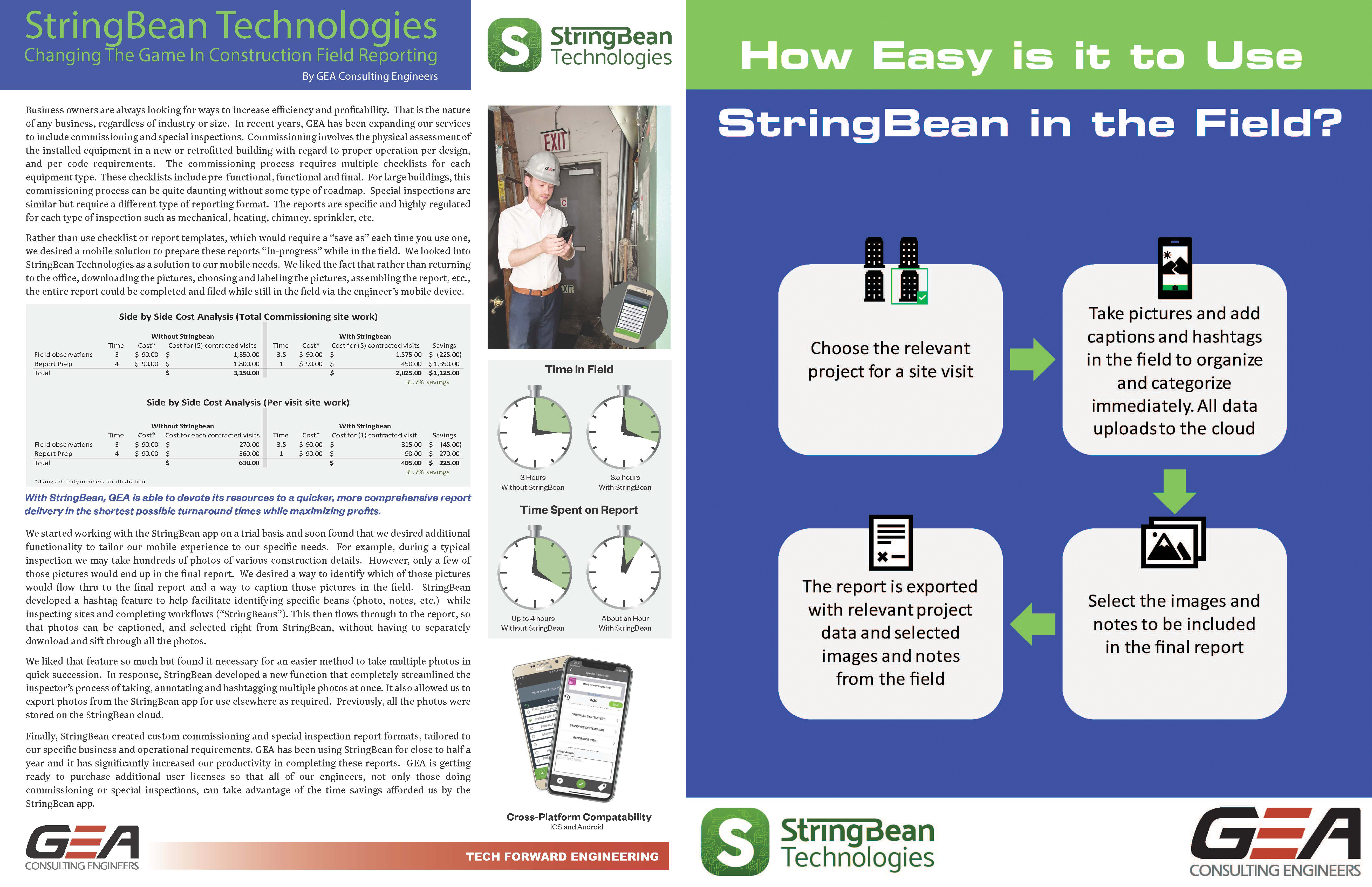 StringBean Technologies: Changing The Game In Construction Field Reporting