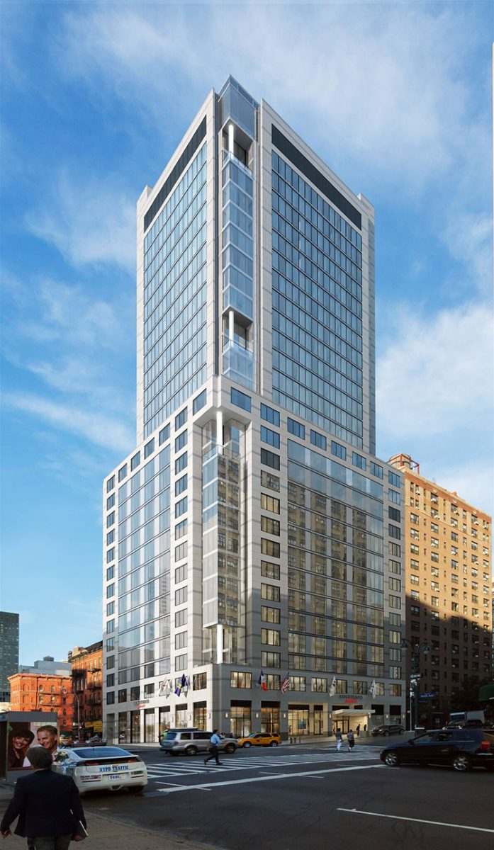 GEA Projects in the News: Courtyard by Marriott Opens Its Doors  in the Hudson Yards