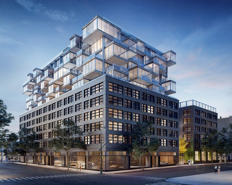 GEA Projects in the News: 'The West' Tops Out at 547 West 47th Street in Hell's Kitchen, Manhattan